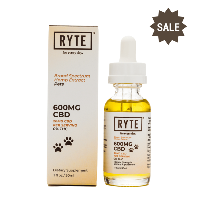600mg Pet Tincture